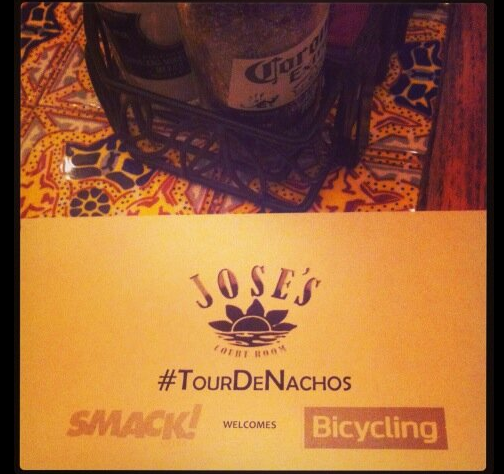 #TourDeNachos With Bicycling Magazine