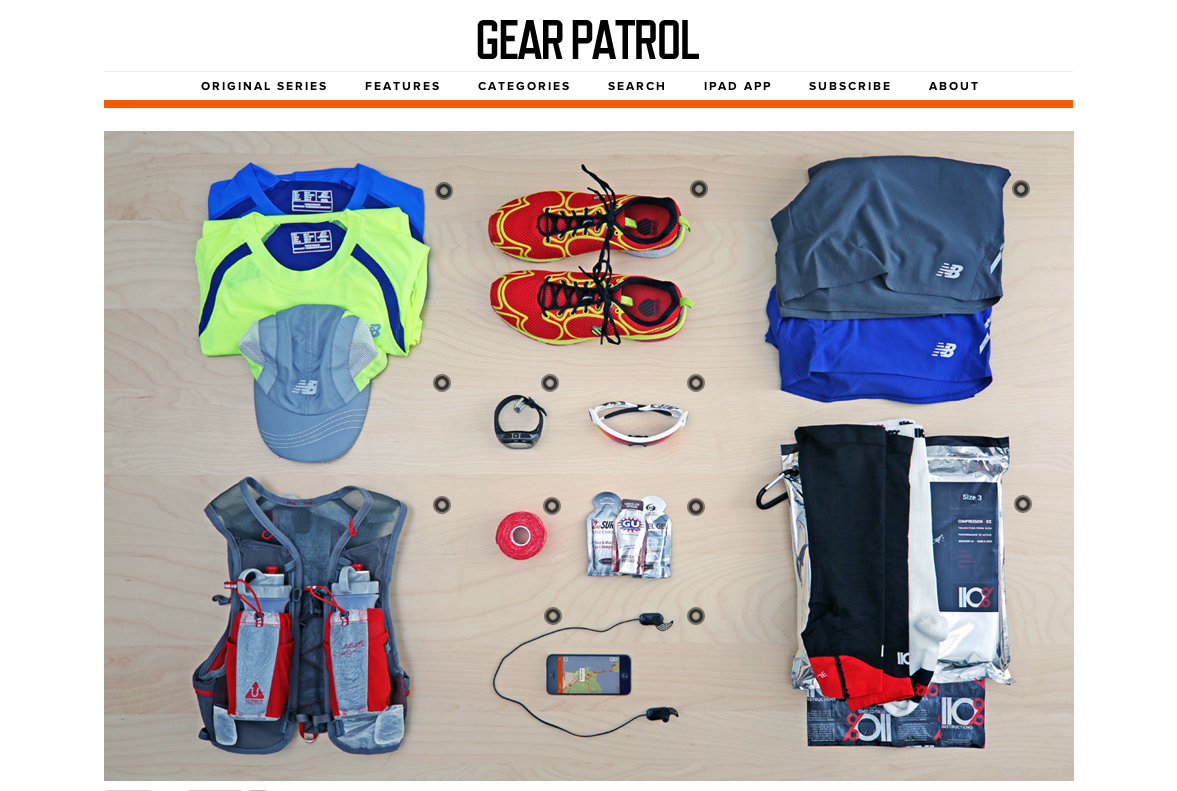 Gear Patrol's Summer Running Must Haves