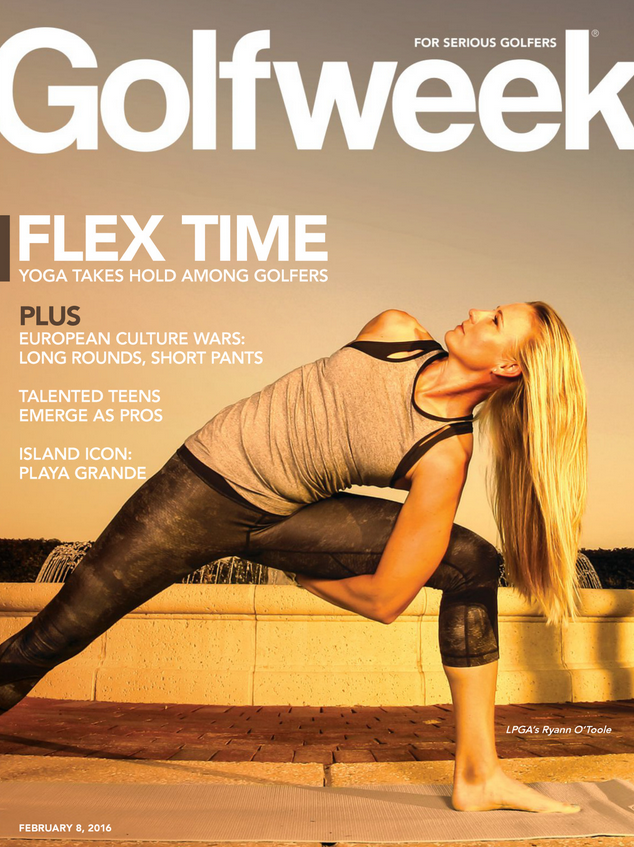 Yoga Transforms The Golf World (Yoga Six Cover Story In GolfWeek)