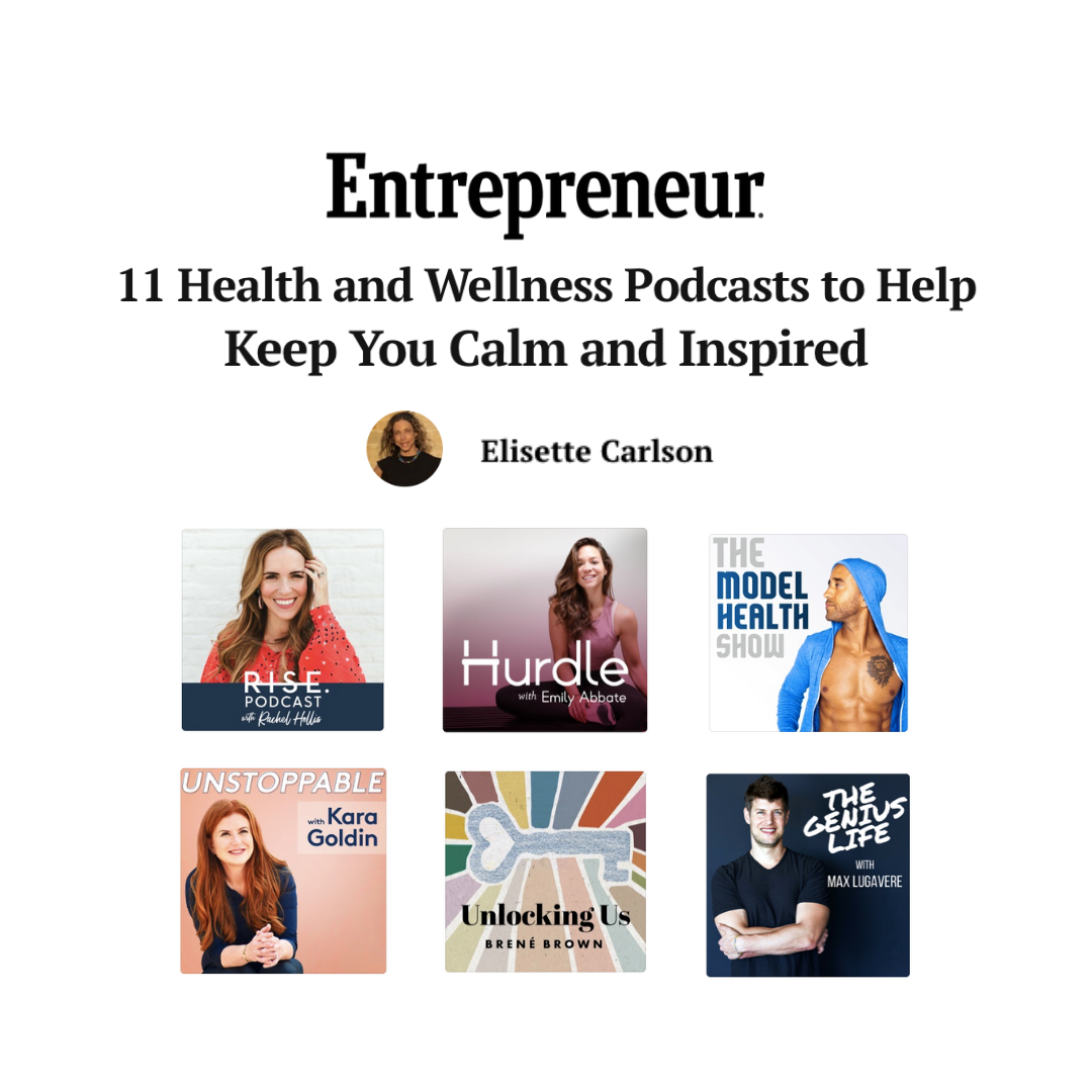 11 Health And Wellness Podcasts To Help Keep You Calm And Inspired