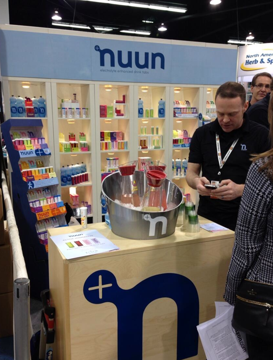 Expo West–Starring Nuun Hydration And NuttZo