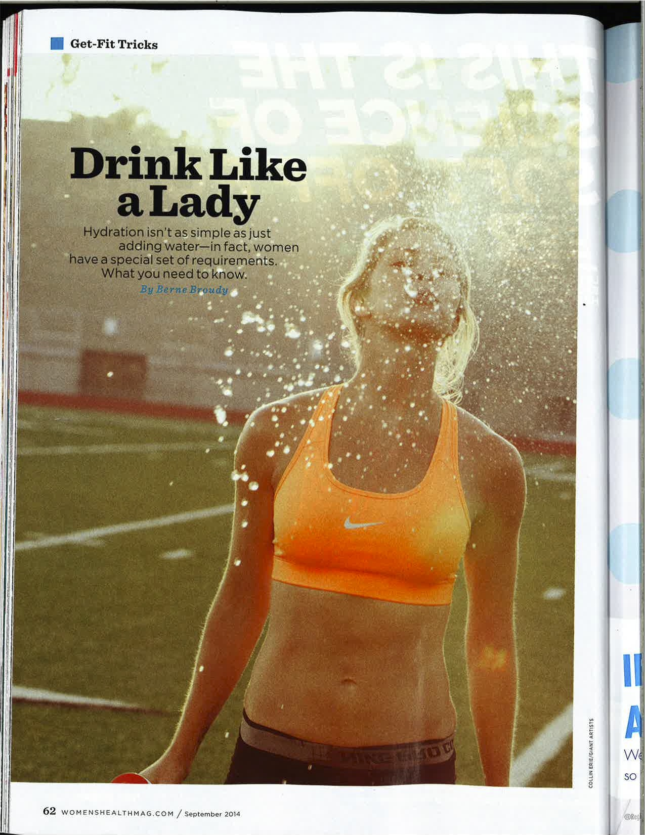 Something Is In The Water! Osmo Nutrition Makes A Media Splash With Science-Based Gender Specific Formulas