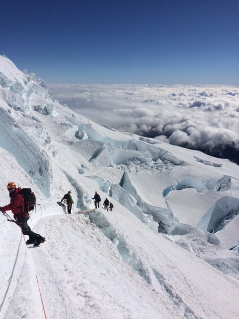 Be Unstoppable: Alden Mills, Navy SEAL And Founder Of Perfect Fitness, Summits 14,400 Foot Mt. Rainier