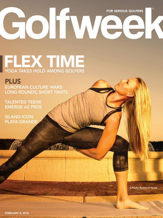 Yoga Transforms The Golf World (Yoga Six Cover Story In GolfWeek)