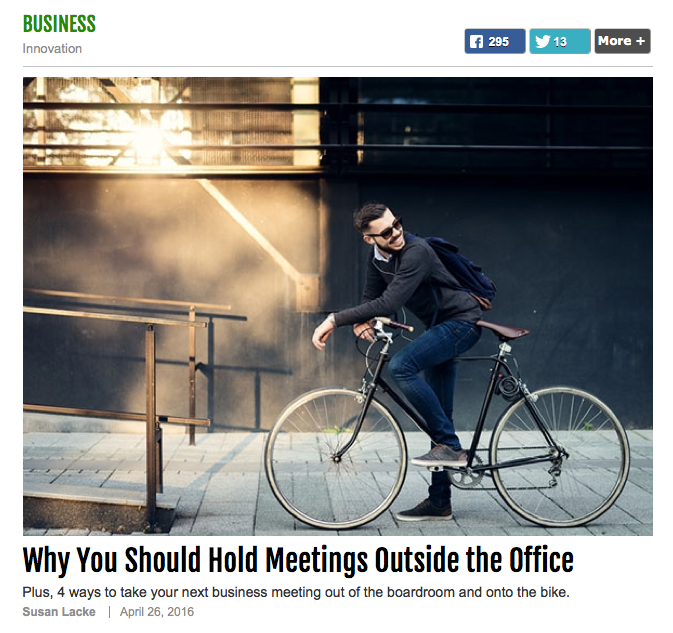 Why You Should Hold Meetings Outside The Office (via Success.com)