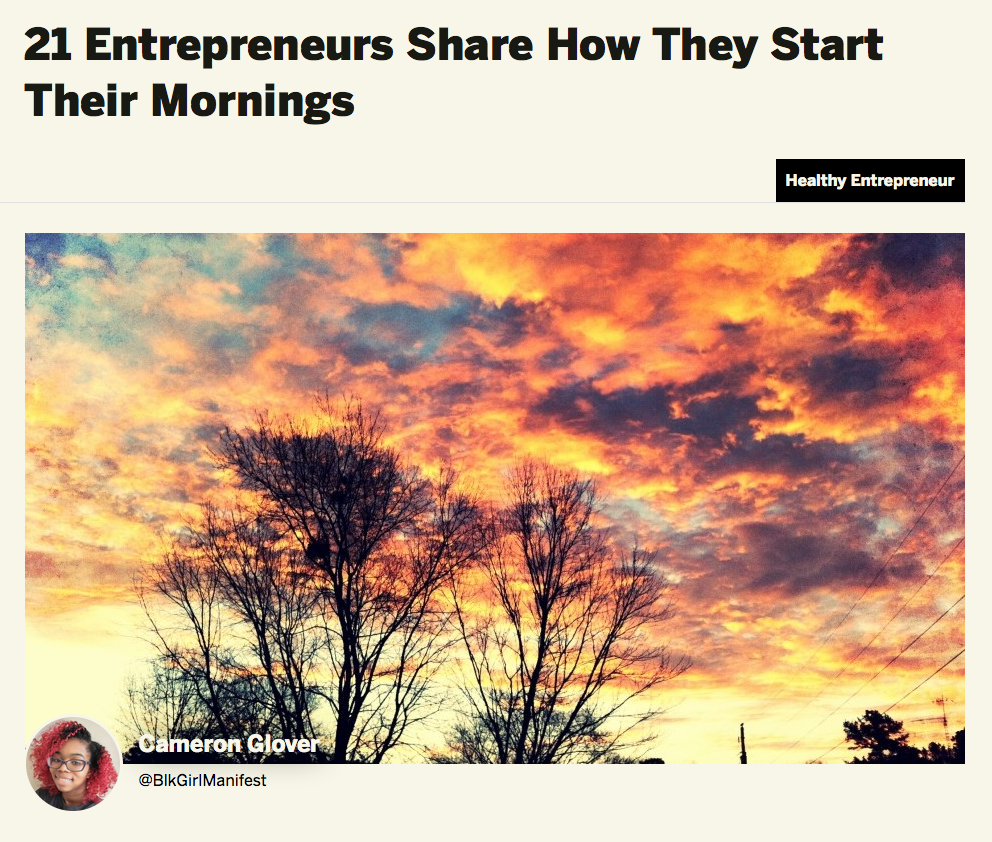 Rise And Shine! Eli Shares Her Morning Productivity Tips With Tech.co