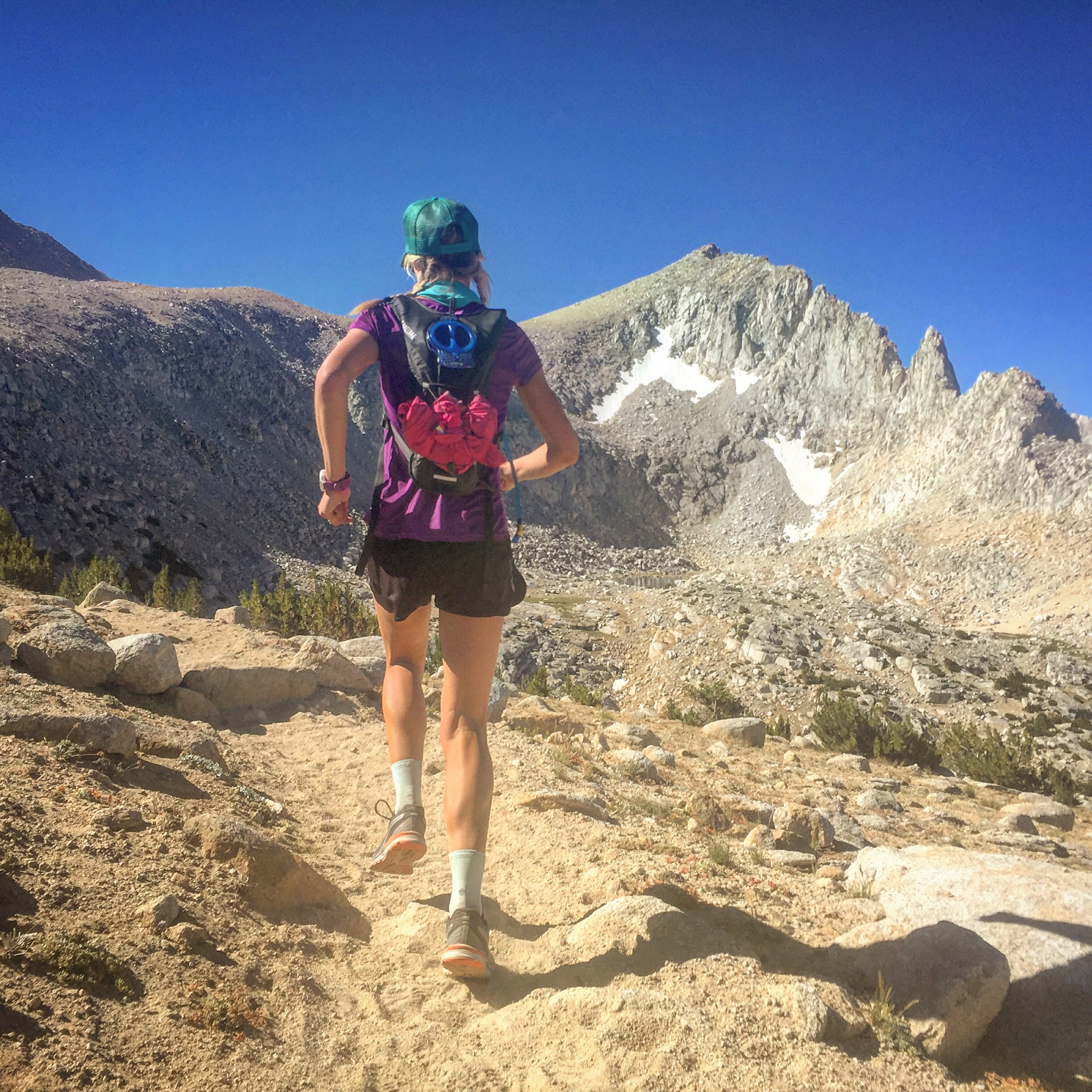What It Takes To Run Across The Sierras: Morgan Just Ran 48 Miles Across The Sierras – Here's How