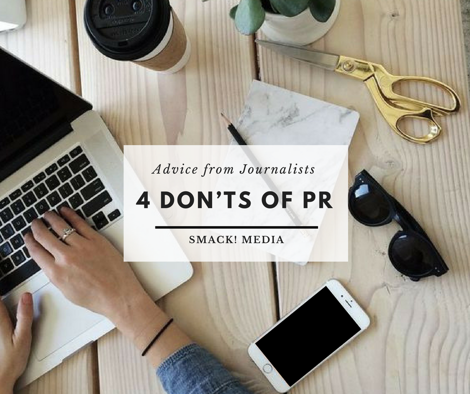 4 Don'ts Of PR – Advice From Journalists